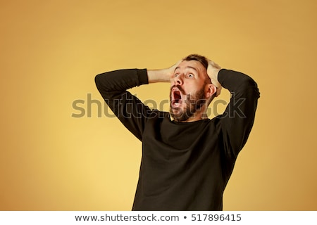Stock photo: Shocked man