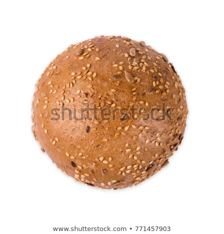 Single of Sweet Dark Whole Grain Bread  Stock photo © tab62