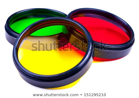 photographic filters isolated on white background Stock photo © pxhidalgo