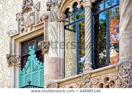 известный архитектора Барселона Испания город искусства Сток-фото © sailorr