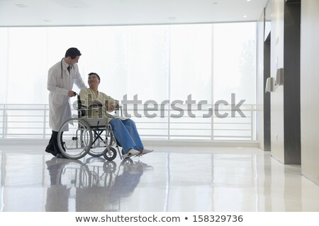 two wheelchair in hospital Stock photo © compuinfoto
