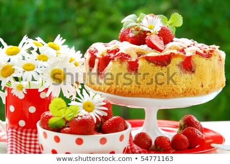 ガーデンパーティー フォアグラウンド パーティ リンゴ フルーツ ストックフォト © tepic