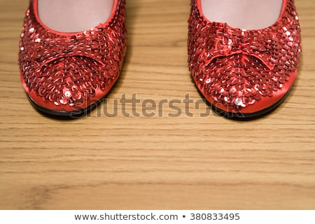 Ruby Shoes Stock photo © piedmontphoto