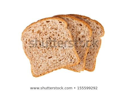 slices of whole wheat bread Stock photo © nalinratphi