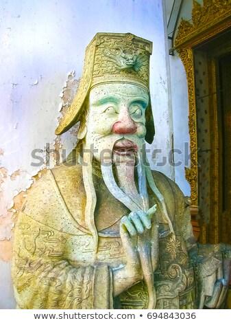 Mythical creature at Wat Phra Keaw stock photo © sundaemorning