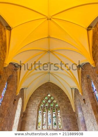 ドーム 小 大聖堂 黄色 ライト 芸術 ストックフォト © michaklootwijk