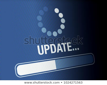 Stock photo: Apps Word on White Laptop Computer
