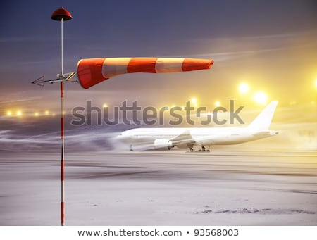 non flying night in airport stock photo © ssuaphoto