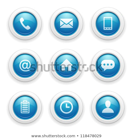 Pil mor vektör ikon düğme Internet Stok fotoğraf © rizwanali3d