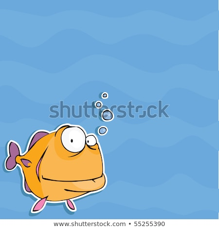 funny fishes in love stock photo © adrenalina