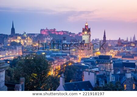 Skyline · Эдинбург · Шотландии · дома · здании · пейзаж - Сток-фото © romitasromala