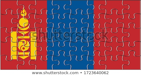 European Union and Mongolia Flags in puzzle Stock photo © Istanbul2009