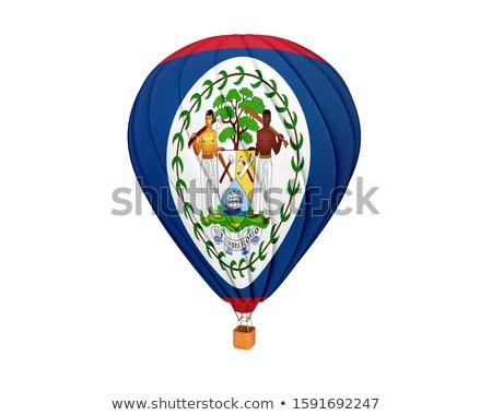 zászló · Belize · háttér · vidék · tő · kör - stock fotó © mikhailmishchenko