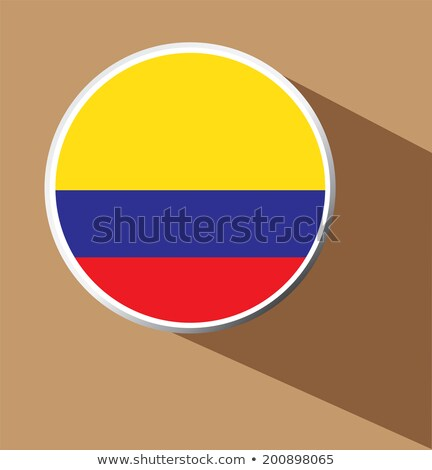 Tablet with Colombia flag Stock photo © tang90246