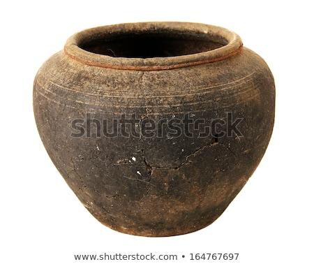 készít · porcelán · váza · agyag · szépség · művészet - stock fotó © shutswis