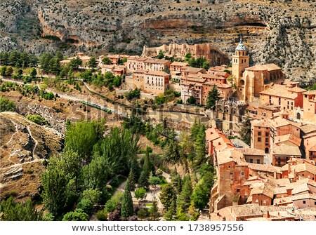 albarracin village stock photo © pedrosala