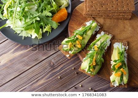 crispbread and cheese stock photo © digifoodstock