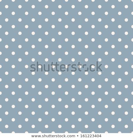 seamless polka dot blue pattern with circles stock photo © punsayaporn