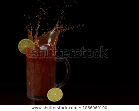 typical big beer glass Stock photo © magann