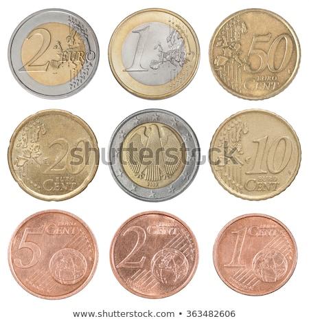 5 ユーロ コイン セント 孤立した 白 ストックフォト © seen0001