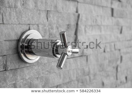 Background of leaking sink in the bathroom. Stock photo © RAStudio