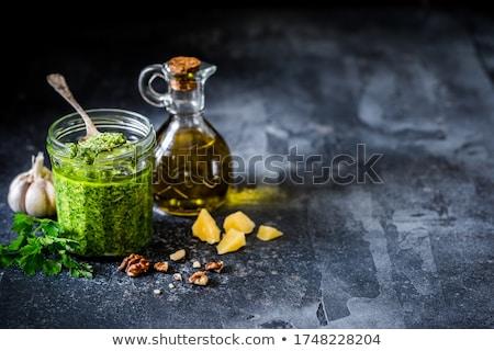 macarrão · aperitivo · frigideira · comida · tomates - foto stock © Digifoodstock