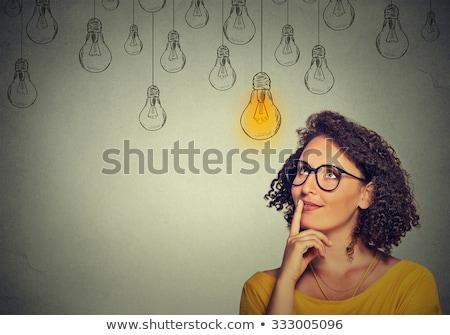 diferente · ilustração · fundo · preto · pensar · gráfico - foto stock © bluering