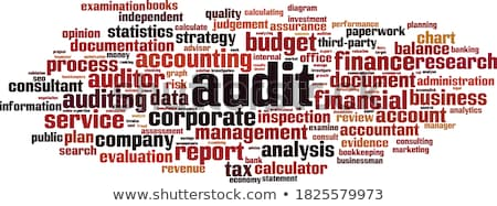 audit word stock photo © fuzzbones0