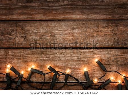 国 クリスマス 装飾 木材 単純な エレガントな ストックフォト © ozgur