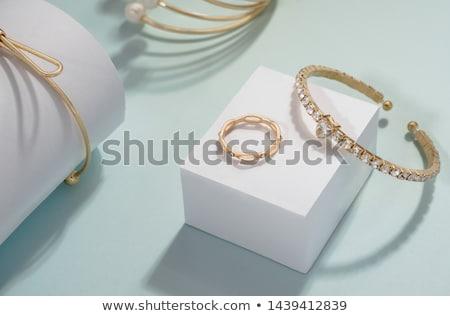 jóias · diferente · isolado · preto · vetor · vidro - foto stock © day908