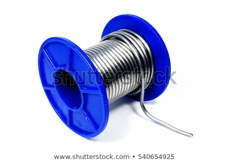 Soldering wire two reels stock photo © clarion450