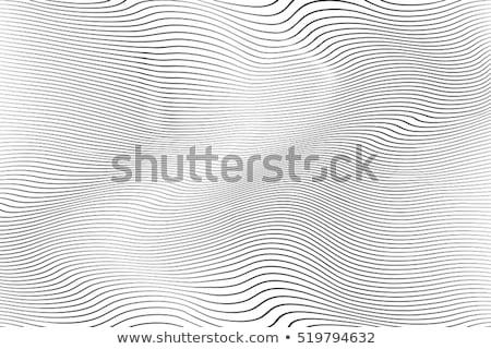 Vonal hullám minta absztrakt minta Stock fotó © SArts