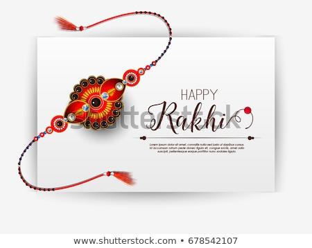 abstract raksha bandhan rakhi Stock photo © pathakdesigner