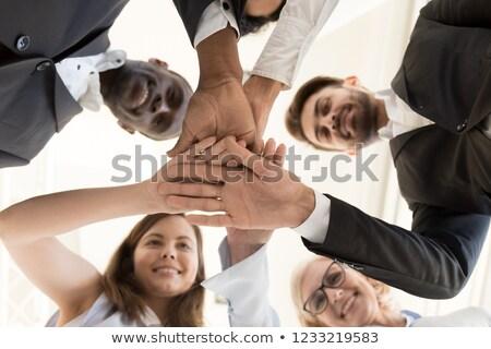 Ręce poniżej shot Zdjęcia stock © dash