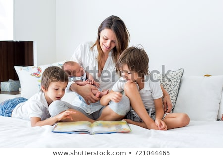 family with three children Stock photo © IS2
