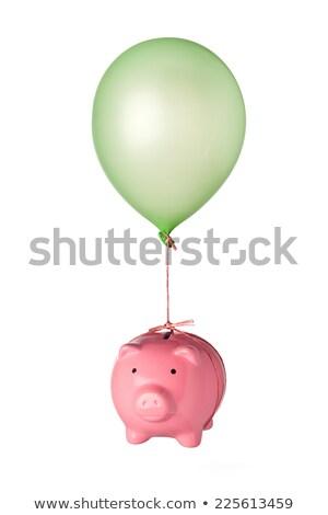 Flying · шаров · счастливым · красочный - Сток-фото © is2