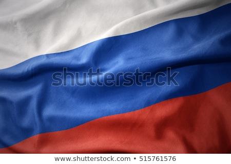 National Russian flag background Stock photo © romvo