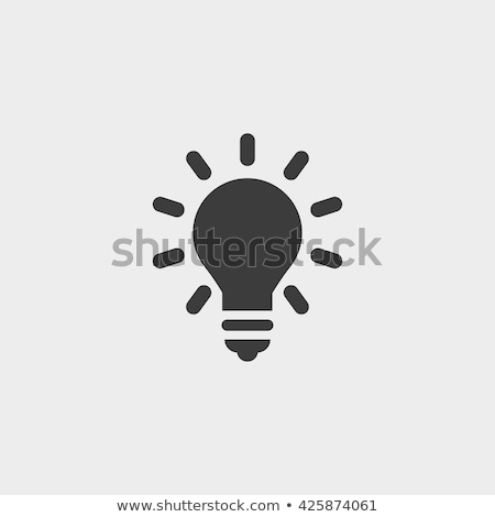 An illuminated lightbulb Stock photo © IS2