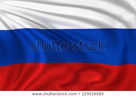フラグ ロシア ロシア 3D レンダリング ストックフォト © Wetzkaz