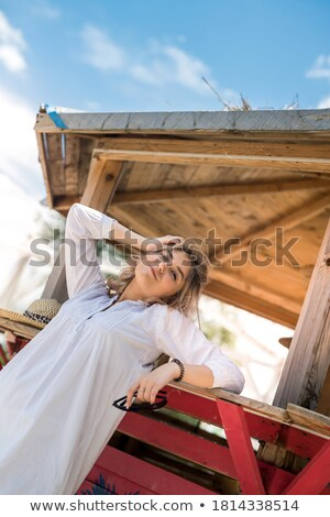 People ar the Beach in Summer Stock photo © bluering