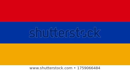 Armênia bandeira branco projeto mundo fundo Foto stock © butenkow