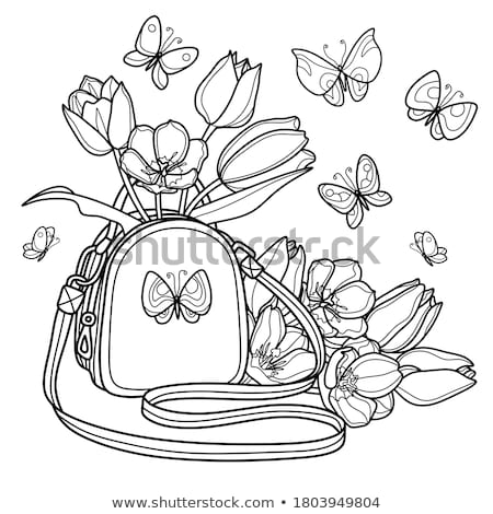 flower for coloring page or decoration for children stock photo © natalia_1947