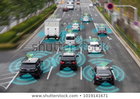 guida · imprenditore · auto · Smart · tecnologia · icone - foto d'archivio © jossdiim