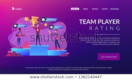 sports rating system concept vector illustration stock photo © rastudio