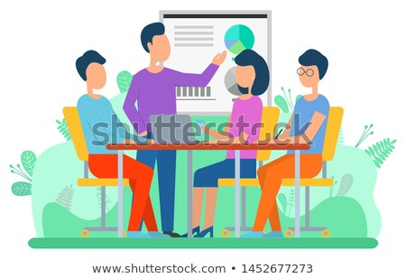Attraction Capital, Business Collaboration Vector Stock photo © robuart