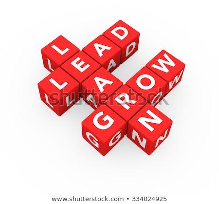 Stock photo: Learn, Grow, Lead
