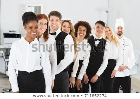 Group of hotel chefs standing together in hotel Stock photo © wavebreak_media