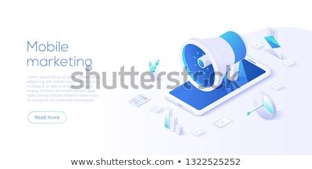 デジタル pr テンプレート 創造 書く ストックフォト © RAStudio