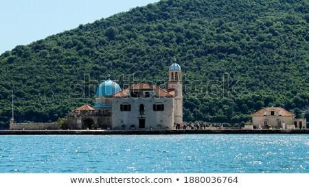 Dead island in Perast Stock photo © Givaga