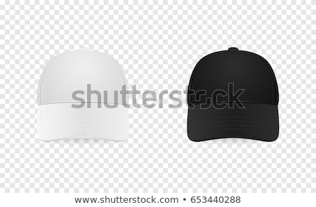 Baseball Cap Design Template Set White background Stock photo © adamson